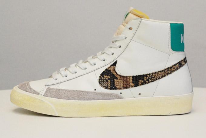 hot sale online 1ae2f f43e8 Nike Blazer Mid 77 VTNG Snakeskin