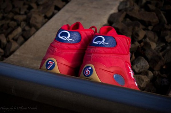 Reebok Question Mid Rouge Packer Shoes