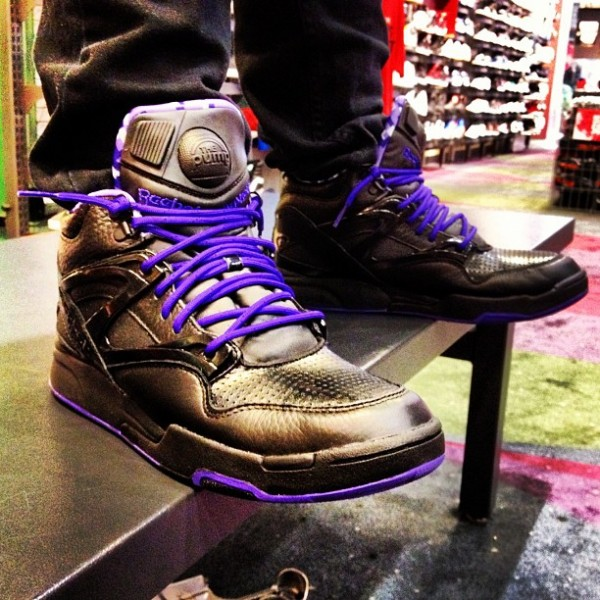 Reebok Pump Omni Lite Black/Purple Digi Camo