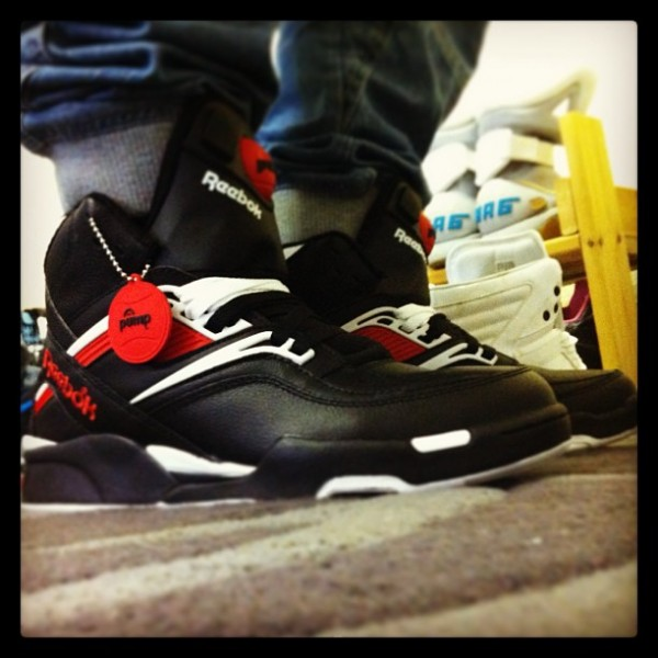Reebok Pump Twilight Zone
