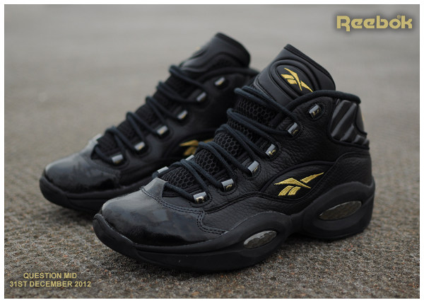 Reebok Question Black/Gold