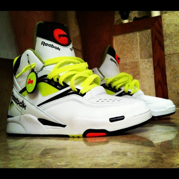 Reebok Pump Twilight Zone Neon