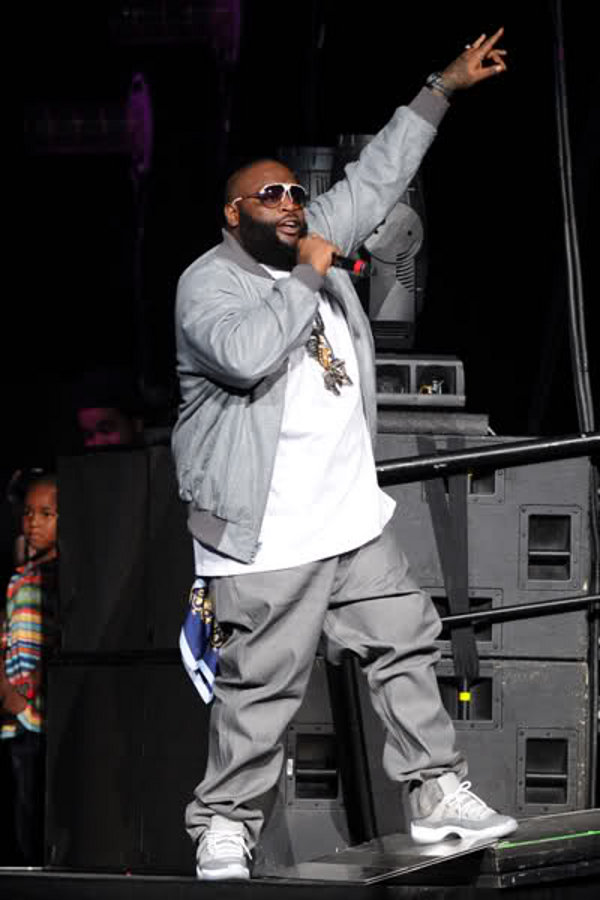 Rick Ross - Air Jordan 11 Cool Grey