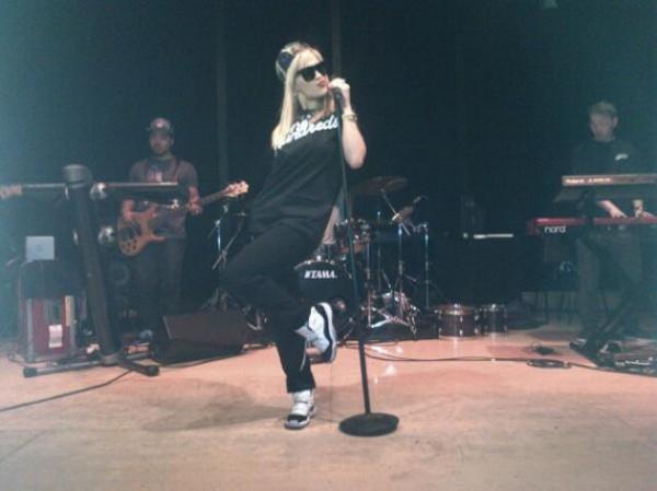 Rita Ora - Air Jordan 11 Concord