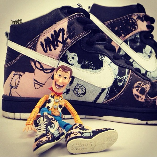 Toy Story - Nike Dunk High Unkle