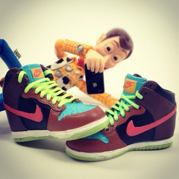 Toy Story - Nike Dunk High Stussy
