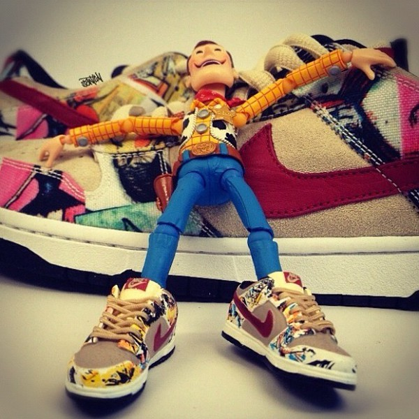 Toy Story - Nike Dunk Low SB Paris