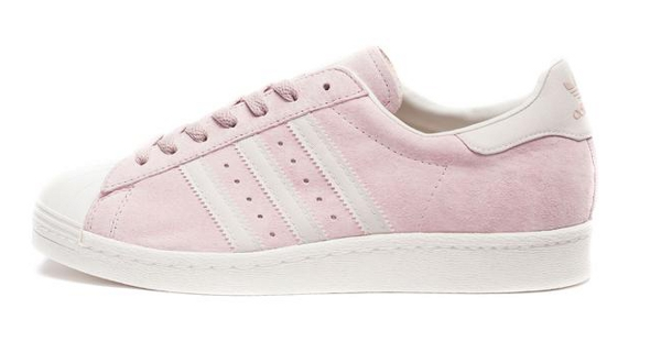adidas 80s w superstar rose