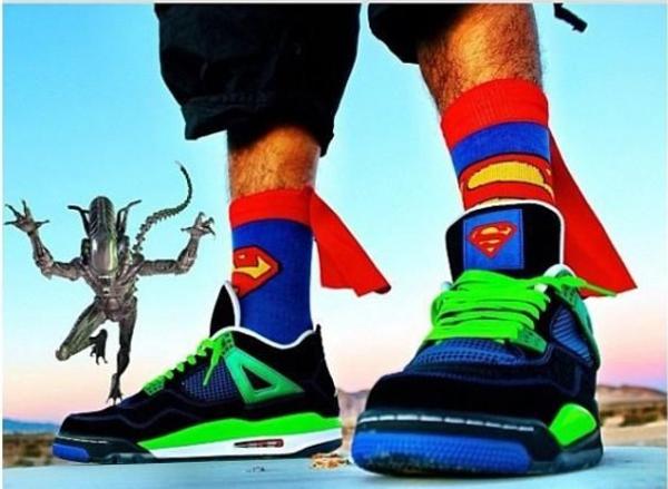 air jordan 4 superman