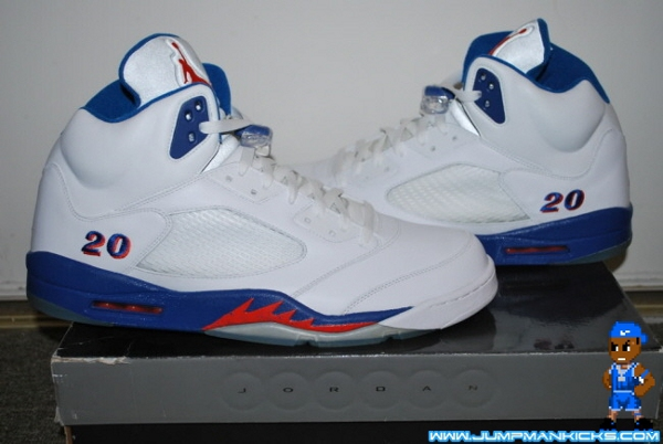 Air Jordan 5 PE Jared Jeffries Home