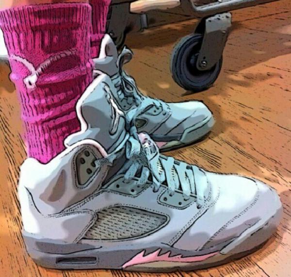 Air jordan 5 Pink