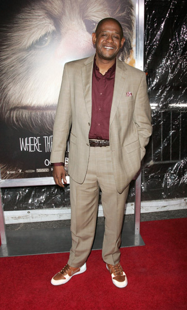 Forest Whitaker sneakers