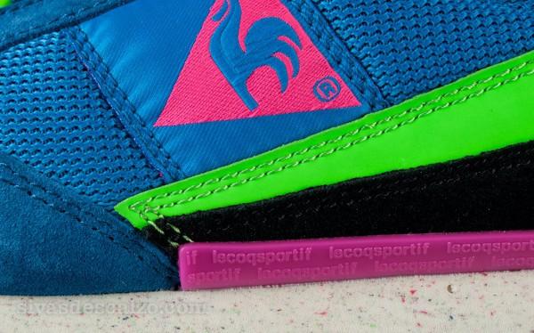 Le Coq Sportif 89 Blue/Green/Gecko