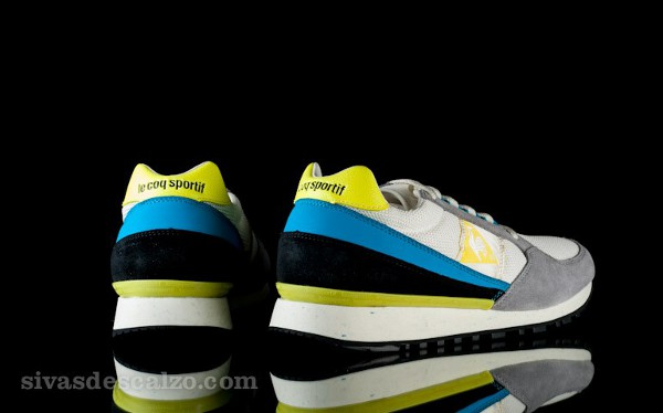 Le Coq Sportif 89 White Atomic/Blue/Lemon Tonic