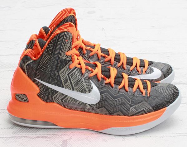 Nike KD 5 BHM Orange & Gris - chaussure de basket
