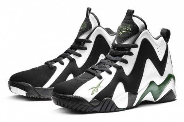 "Reebok Kamikaze II ""White/Black-Green"""