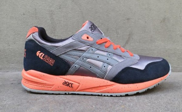 Asics Gel Saga gris orange