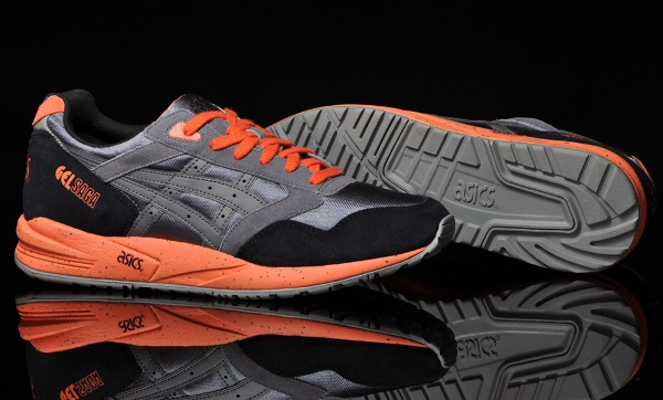 Asics Gel Saga Grey orange