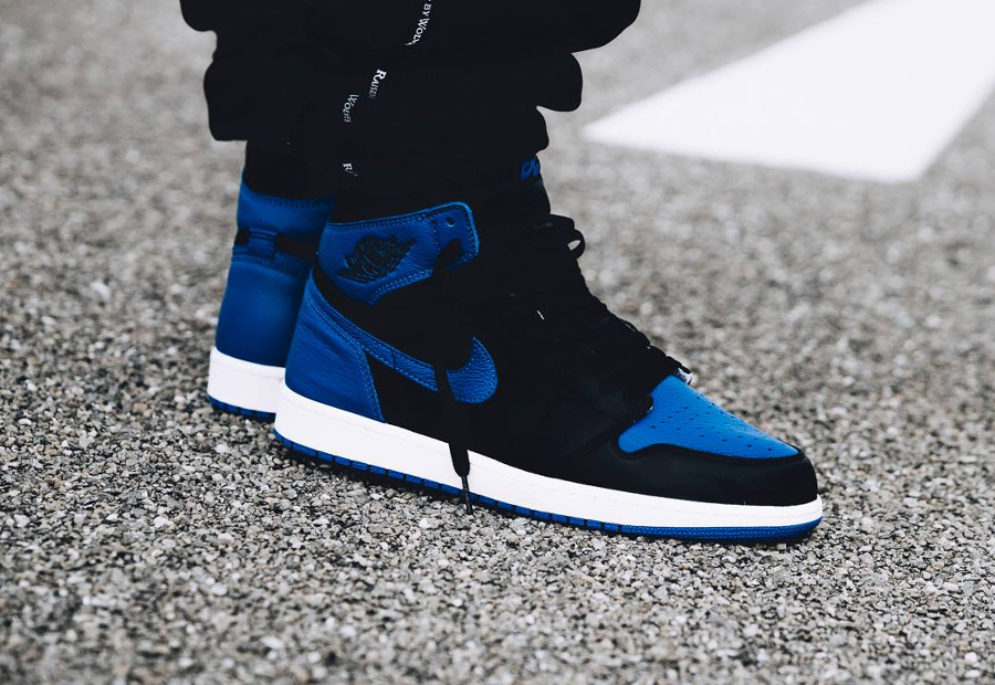 air jordan 1 retro high bleu