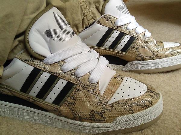 Adidas Fleetwood snakeskin