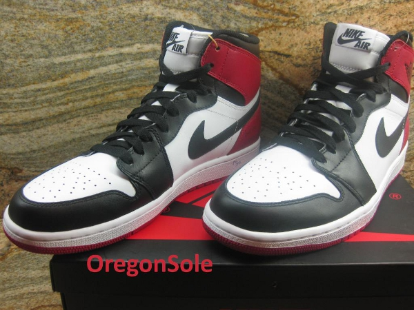 "Air Jordan 1 High ""Black Toe"" 2013"