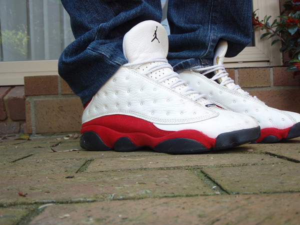Air Jordan 13 White/Red - Sk8shoeking 2000