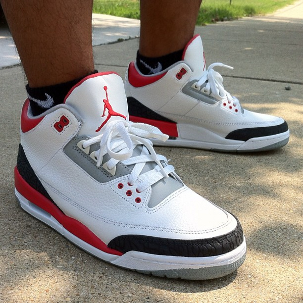 Air Jordan 3 Fire Red - RJ Dela Concepcion