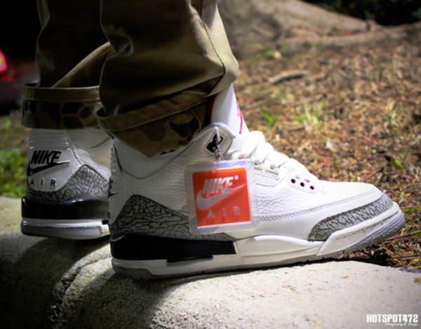 Air Jordan 3 White Cement Grey - Hotspot472