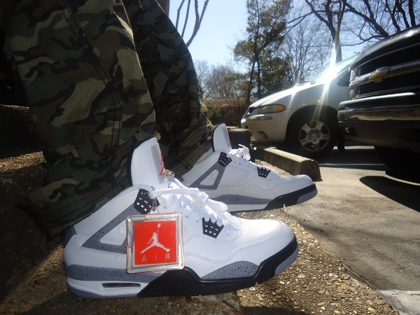 Air Jordan 4 White Cement Grey - 901prince