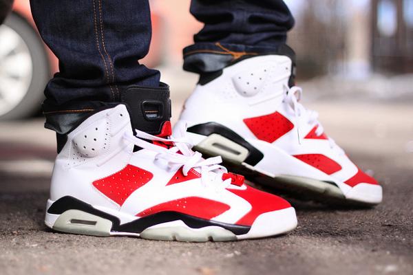 Air Jordan 6 Carmine - Tombz