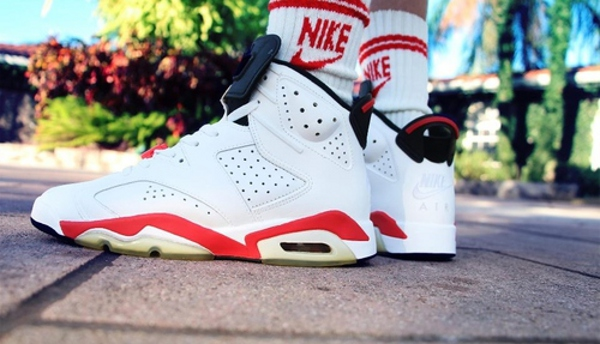 Air Jordan 6 White/Infrared