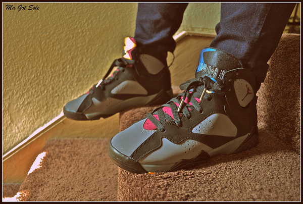 Air Jordan 7 Bordeaux - Ma Got Sole