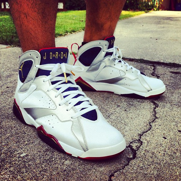 Air Jordan 7 Olympic - RJ Dela Concepcion