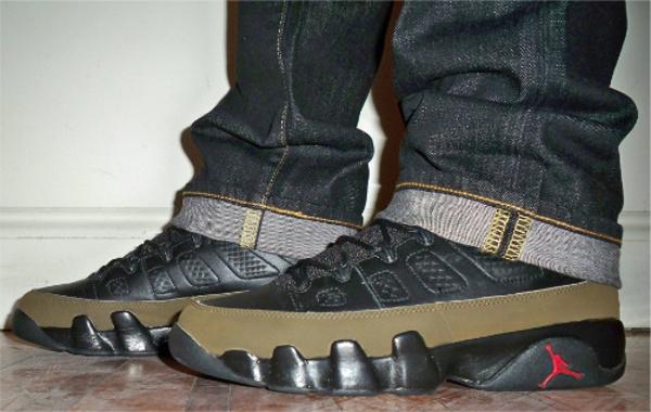 Air Jordan 9 Olive - Alifestyle