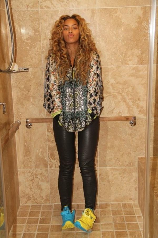 Beyoncé en Reebok Keith Haring