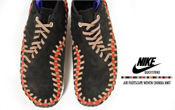 Nike Air Footscape Woven Chukka Knit
