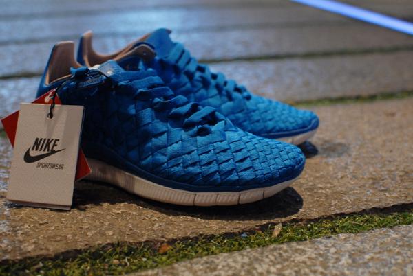 Nike Free Inneva Woven SP Blue 2013
