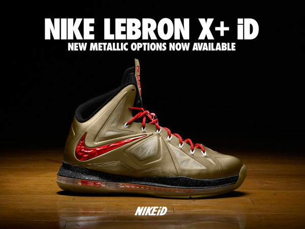 Nike Lebron 10 ID