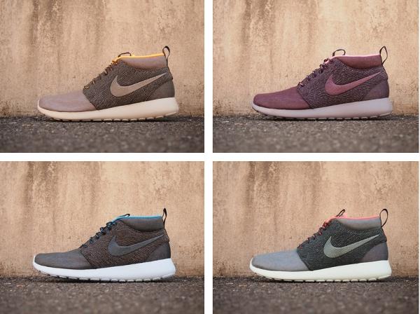 Nike Roshe Run Mid : Paris, New York, Londres, Tokyo