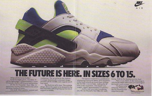 Publicités Nike Og Air 8 Huarache Vintage rPTIqPw