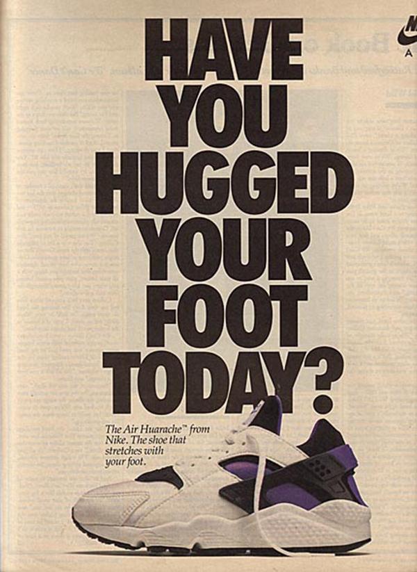 Publicité Vintage Nike Air Huarache
