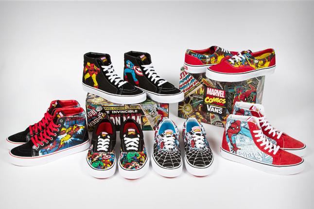 Vans Marvel Avengers : Sk8 Hi & Era
