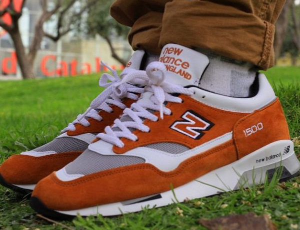 New Balance 1500 Suede Curry