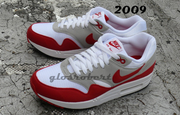 Nike Air Max 1 Original son évolution de 1997 à 2012
