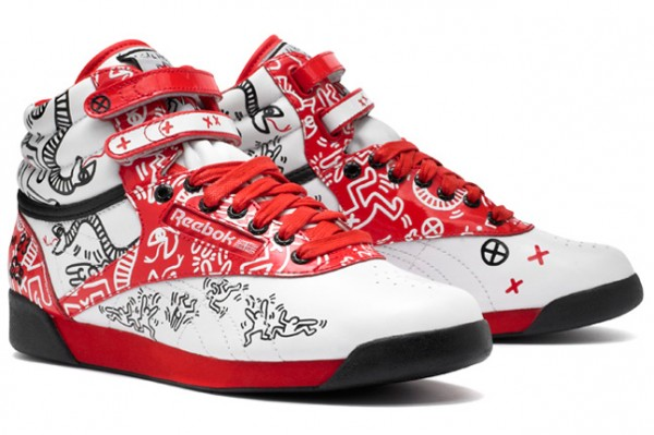Reebok Classic Freestyle Keith Haring