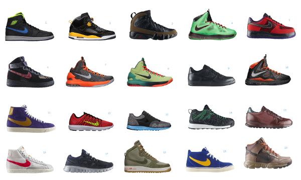 6 sneakers en promotion au Nike Store.fr
