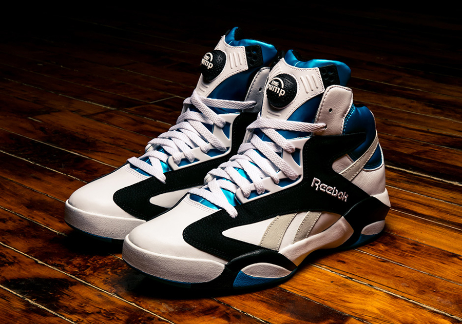 Chaussure Reebok Shaq Attaq Pump OG 'Orlando Magic' Retro 2017