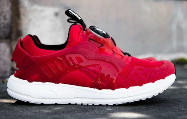 0872688147aa Puma Disc Black Red Ribbon (rouge)