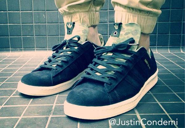 Adidas Campus 80's Bape Undefeated - Justin Condemi