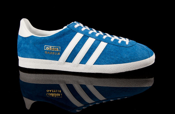 Adidas Gazelle OG bleu & blanc